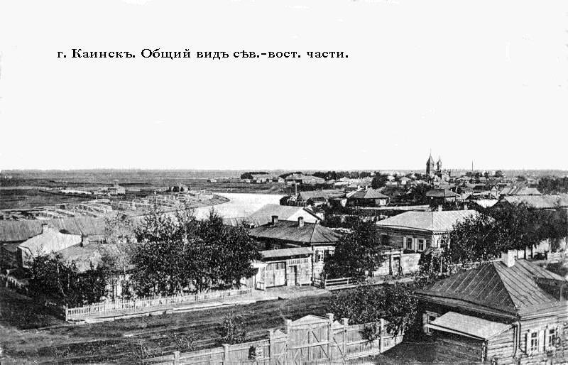 Вид восточной части
